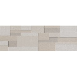 Evolution Relieve Cube Ivory 30x90 rec