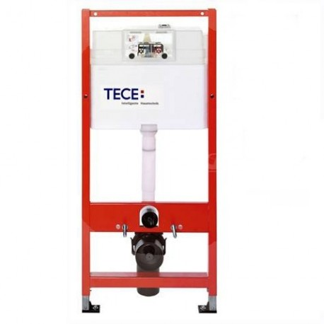 Tece  Cisterna  Empotrada. TECE 9.400.012 Especial obra-pladur  con Puldador Cromo