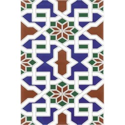 Ribesalbes Medina Azul 20x30
