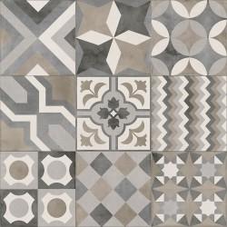 Rivet White 60x60 rec