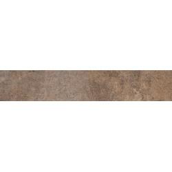Oset Rodapie City Brown Mate 8x45