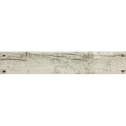 Oset Rodapie Cottage White mate 8x45