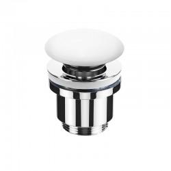 Sdz Válvula de lavabo clic-clac Cerámica blanco brillo