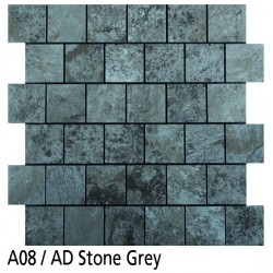 Euroshrink Mosaico Autoadhesivo A08 Stone grey vinílico