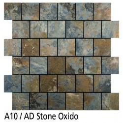 Euroshrink Mosaico Autoadhesivo A10 Stone óxido vinílico