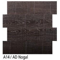 Euroshrink Mosaico Autoadhesivo C14 Nogal vinílico