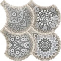 Oset Porcelanico Granada Deco Grey 32,5x32,5