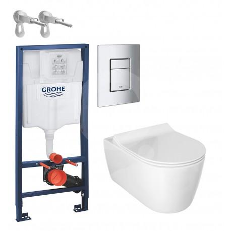 Kit del WC Alfa con la Cisterna completa de Grohe