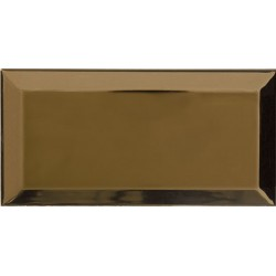 Bisel Oro Biselado 10x20