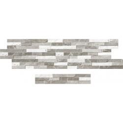 Porcelánico exterior imitación Piedra Sicilia Grey 8x44,2