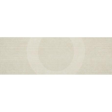 Tau Textura Beige Relieve Biel 25x75