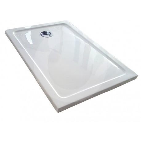 Aqua Queràmic Liso plato ducha extraplano 4cm acrilico