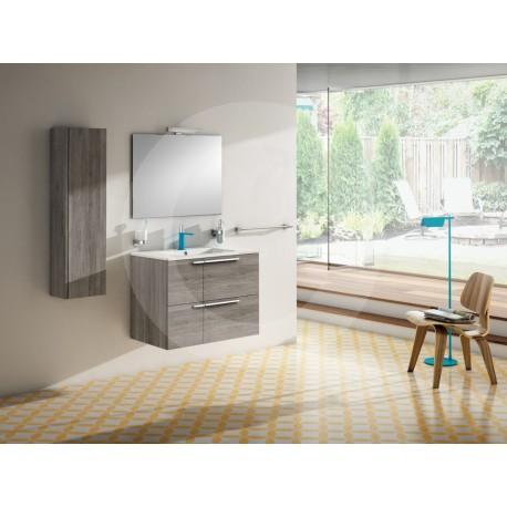 Sonia CUATRO Greywood 4 cajones con  lavabo 80x46 cm