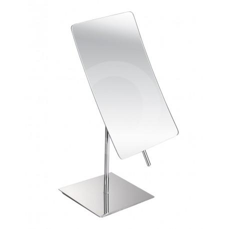 Optima Miroir Paroi 20cm à Bras et Lumière Led