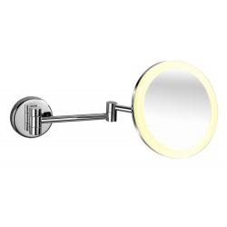 Optima Miroir de Bureau 20cm avec Lumière Led
