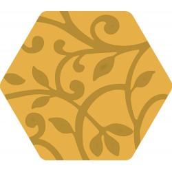 Florencia Grabados Amarillo 25,8x29 Porcelánico