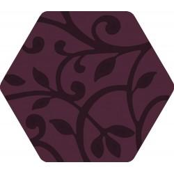 Florencia Grabados Púrpura 25,8x29 Porcelánico
