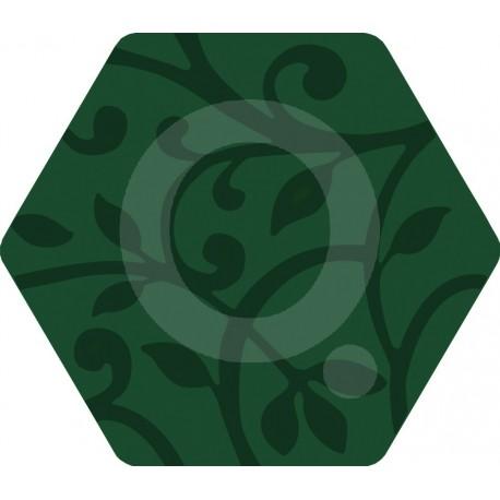 Florencia Grabados Verde 25,8x29 Porcelánico