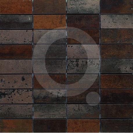 "Tau Ferro ""A"" Malla 30x30 (3x7) Porcelánico"