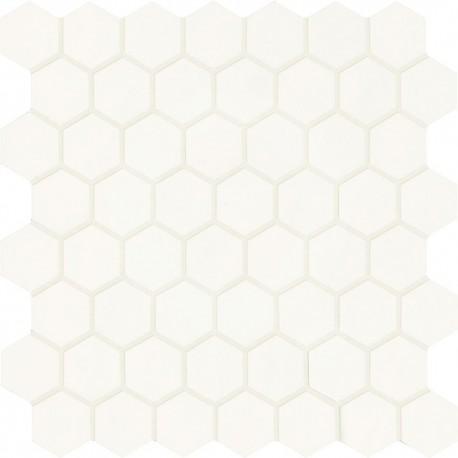 Smooth Mix Esagona White Mate 30x30