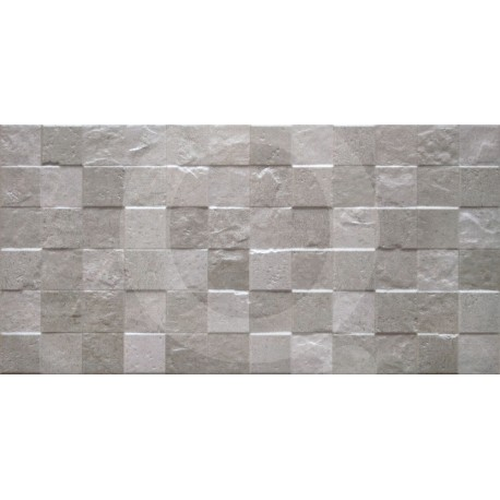 Transit Relieve Grey Block Nordic 30x60 Porcelánico