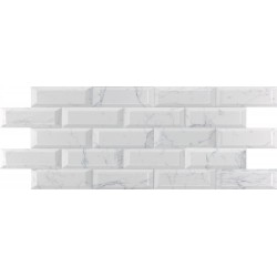 Bisel Carrara Brillo 10x30