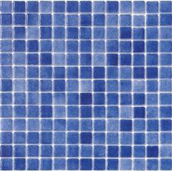 Niebla Azul 33x33 Mosaico Cristal