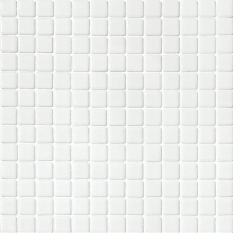 Niebla Blanco 33x33 Mosaico Cristal