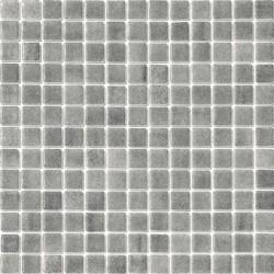Niebla Gris Antideslizante 33x33 Mosaico Cristal