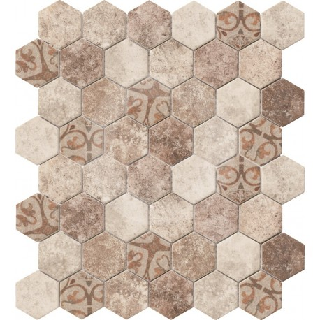 Altoglass Hexagonal Texture Shine 32.4x28