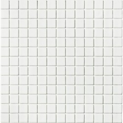 Matt Collection Blanco 33x33 Mosaico Cristal
