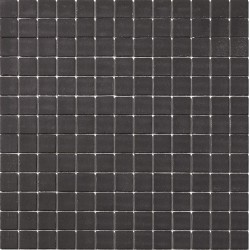 Matt Collection Negro 33x33 Mosaico Cristal