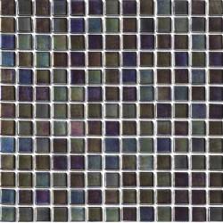 Platino Noche 33x33 Mosaico Cristal