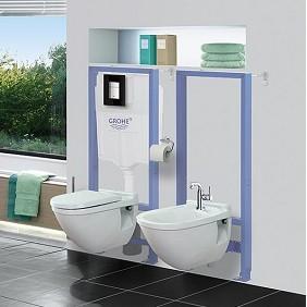 Inodros con cisterna empotrada modernos