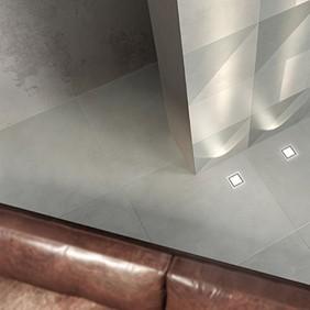 Suelo porcelánico efecto cemento