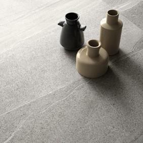 Suelo porcelánico imitación piedra marina