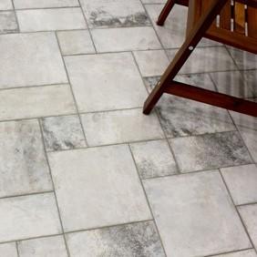 Porcelánico rústico efecto cemento