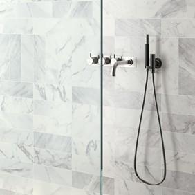 azulejos de imitación de mármol para baño