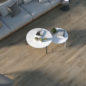 Pavimento cerámico imitación madera