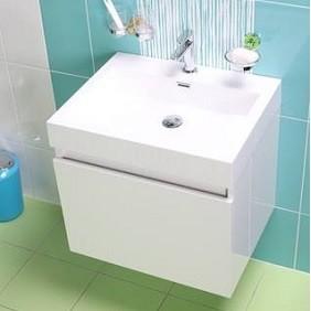 Muebles de baño con puerta