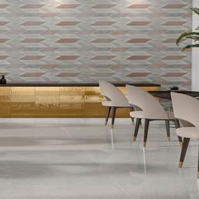 Pavimento porcelánico efecto piedra esmaltada