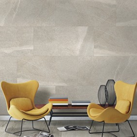 Porcelánico imitación piedra volcánica