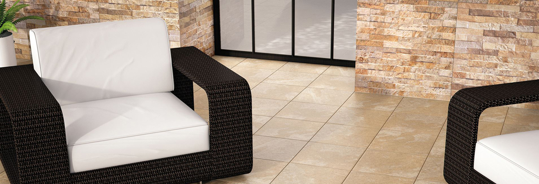 Porcelaine extérieure-Hilltop Cifre Ceramica aspect ciment Outdoor