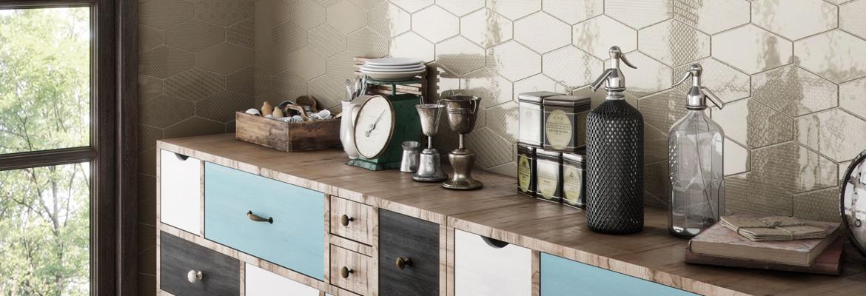 azulejos hexagonales