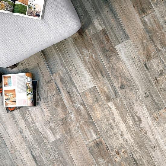 Lumber Greyed Antideslizante 15x66 Porcelánico