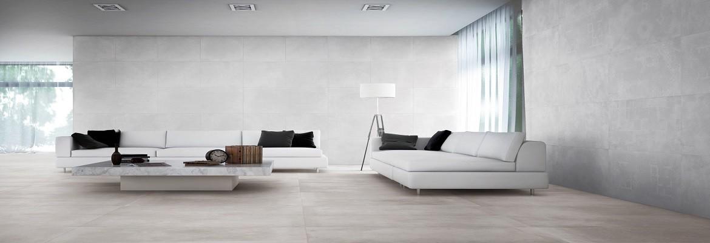 El porcelanico imitación al cemento