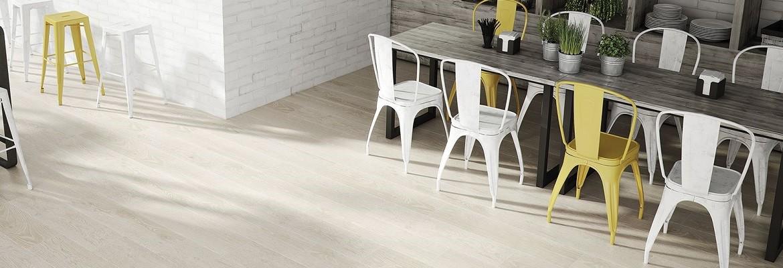 Serie Quercus de parquet porcelánico